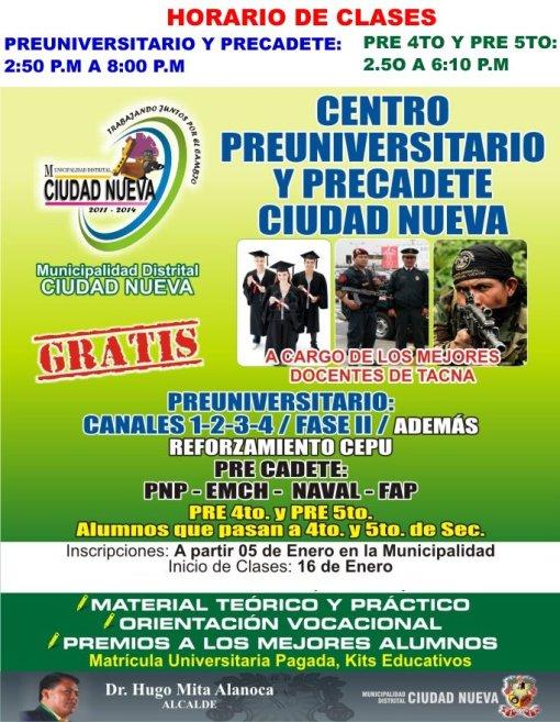 Academia Gratuita Ciudad Nueva